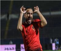 معلول يسجل الثاني للأهلي في شباك المصري
