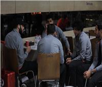 بعثة الأهلي تبدأ التوافد على مطار القاهرة