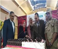 «شوشة» يفتتتح مسرح مدرسة الشهيد أحمد عسكر بالعريش