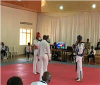 عبد الرحمن محمد يحصد فضية التايكوندو في «ألعاب حوض النيل» برواندا
