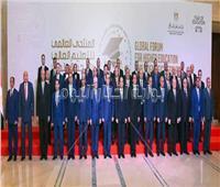 رئيس جامعة المنوفية يشارك في اجتماع الرئيس مع المجلس الأعلى للجامعات