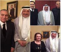 شاهد| أحدث صور لـ«مبارك» وعائلته