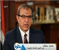فيديو| وزير القوى العاملة: قرارات الرئيس برفع الأجور تدرس منذ عام