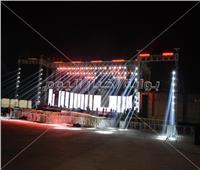 صور| التجهيزات النهائية لحفل تامر حسني والعسيلي في المنارة