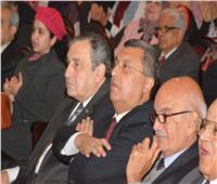 صور| عصام شرف والكنيسي والصريطي في حفل أمسية أحمد تيمور