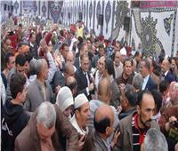 صور  مؤتمر حاشد في البحيرة لدعم التعديلات الدستورية بحضور سليمان وهدان