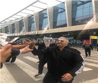 بالصور  بعثة «يد الزمالك» تصل مطار القاهرة بعد الفوز بالسوبر الأفريقي