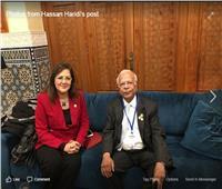 وزيرة التخطيط تلتقي بمستشار رئيس الوزراء ووزير الإصلاح المؤسسي في باكستان