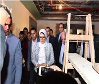 وزيرة الصحة تشيد بمعدل الإنجاز في مستشفى الزهور ببورسعيد