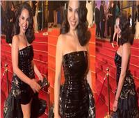 فيديو  نسرين أمين تخطف الأنظار في حفل «موريكس دور»