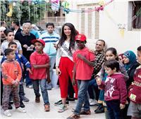 صور/ ملكة جمال الأناقة تحتفل بيوم اليتيم وسط الأطفال من ذوي الاحتياجات الخاصة