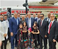 وزير التموين يصل محافظة الوادي الجديد لتفقد صوامع الأقماح
