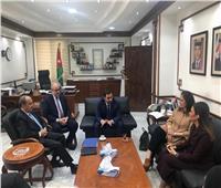 تفاصيل لقاء 3 وزراء مع وزير التجارة والصناعة الأردني