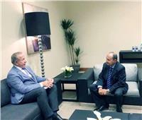 وزير التجارة يبحث تعزيز التعاون الاقتصادي مع كوسوفو