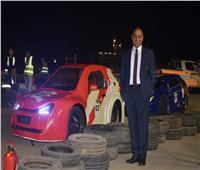 بدء الموسم الثاني لمسابقة رالي القاهرة للسيارات الكهربية محلية الصنع