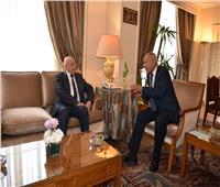 رئيس مجلس النواب الليبي يبحث مع أبو الغيط تطورات الأوضاع