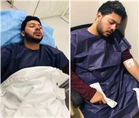 محمد شاهين يخرج من العمليات بعد جراحة في الأنف