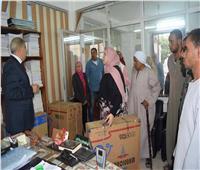 12 ألف قطعة ملابس بالمجان بالمعرض السنوي لجامعة المنيا