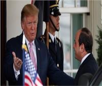 ترامب: أمريكا تشكر السيسي على جهوده في التسامح الديني وحرية العبادة بمصر