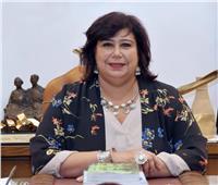 صور| وزيرة الثقافة: المسرح العائم إضافة إلى قلاع التنوير في مصر