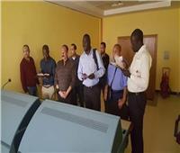 وفدًا من سلطة الطيران الأوغندي يتفقد الأكاديمية المصرية لعلوم الطيران