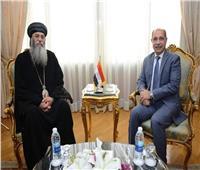 مطران القدس يلتقي وزير الطيران المدني