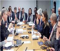 «سحر نصر» تتفق مع نائب رئيس البنك الدولي على زيادة التعاون المشترك