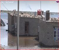 فيديو| الفيضانات والسيول تغرق قرى بالكامل في البصرة جنوب العراق
