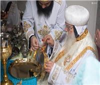 الأنبا باخوميوس يصلي قداس الجمعة من الأسبوع السادس من الصوم المقدس بدمنهور