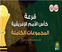 إنفوجراف| الجداول الكاملة لمجموعاتبطولة كأس الأمم الأفريقية