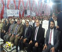 مؤتمر شعبي حاشد لمستقبل وطن بالغربية للتوعية بالتعديلات الدستورية