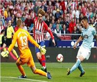 أتلتيكو مدريد يفوز بثنائية على سيلتا فيجو ويطارد برشلونة