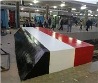 صور| في محطة مصر.. رصيف 6 يستعيد بريقه وسلال القمامة في كل مكان