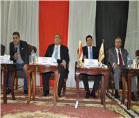 صور  ندوة تثقيفية بجامعة حلوان للتوعية بالتعديلات الدستورية