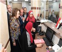 وفد وزارة التخطيط يزور بورسعيد لتفقد المراكز التكنولوجية