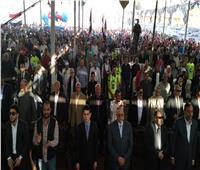 مؤتمر جماهيري حاشد بمركز بلبيس بالشرقية لدعم التعديلات الدستورية