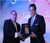 وزير التعليم العالي يشهد احتفالية كلية الفنون التطبيقية بجامعة حلوان