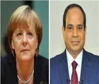 خلال اتصالٍ هاتفيٍ مع السيسي.. رؤية «ميركل» بشأن الأوضاع في ليبيا والسودان