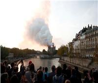 صور وفيديو| نوتردام «دو باري» في قبضة النيران