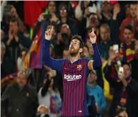 فيديو  ميسي يسجل هدف التقدم لبرشلونة بـ«طريقة رائعة»