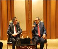 سعفان والربيعي يبحثان تطوير منظومة التفتيش والسلامة بالعمل العراقية