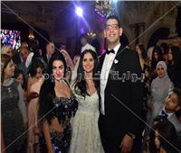 صور| الليثي ومتقال وصافينار في زفاف ابنة اللواء محمد وهبة