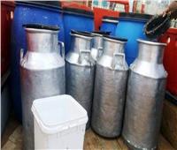 ضبط مصنع منتجات ألبان بدون ترخيص في بولاق الدكرور