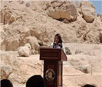 المشاط: الاكتشافات الأثرية تساهم في الترويج للسياحة