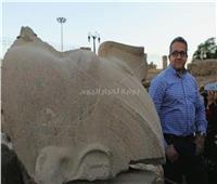 تمثال رمسيس الثاني يتحول من «أحجار مكسرة» إلى صرح عظيم