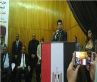 وزير الرياضة يطالب بوضع رؤية مختلفة لاتحاد شباب العمال