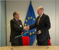 توقيع مذكرة تعاون بين المنظمة العربية للطيران المدنيوالمفوضية الأوروبية ببروكسيل