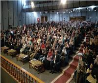 مؤتمر حاشد للرائدات الريفيات بالبحيرة لتأييد التعديلات الدستورية بحضور المحافظ