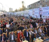 صور| مؤتمر شعبي حاشد لمستقبل وطن بالبحيرة لتأييدالتعديلات الدستورية