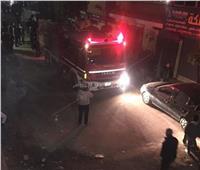 السيطرة على حريق داخل شقة بجسر السويس